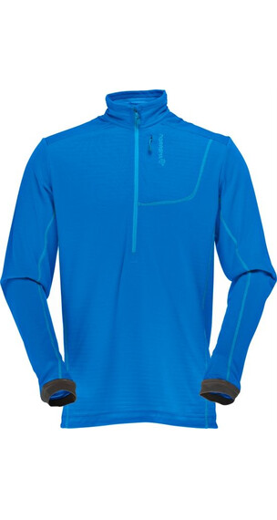 Norrøna M's Bitihorn Powerdry shirt Electric Blue